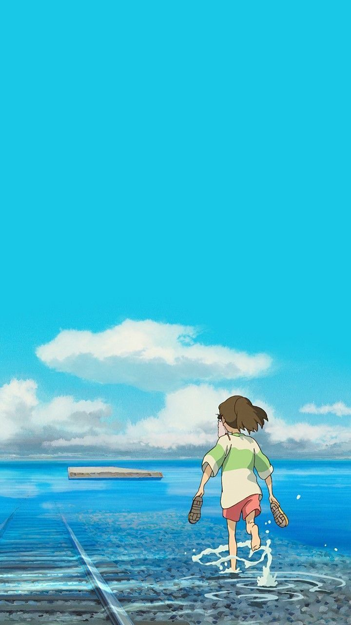 Spirited Away Iphone Wallpaper Studio Ghibli Background Studio Ghibli Art Ghibli Artwork