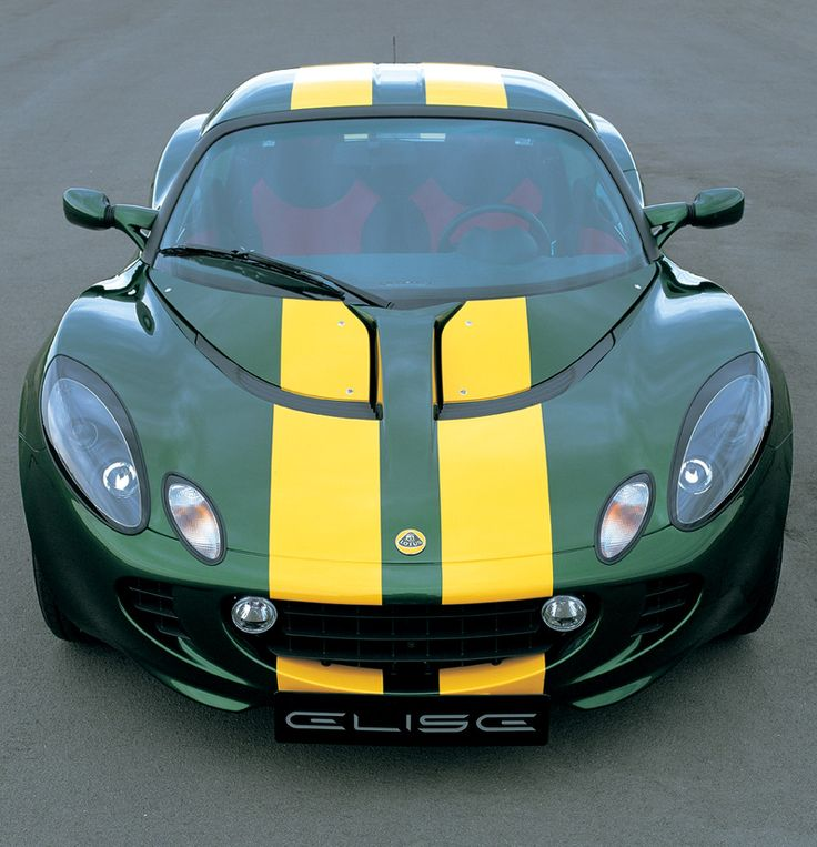 own a lotus elise if i could find one with this color scheme that would