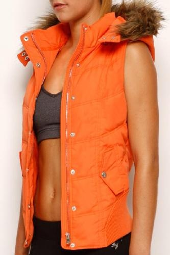 Maxine Hooded Puffa Vest