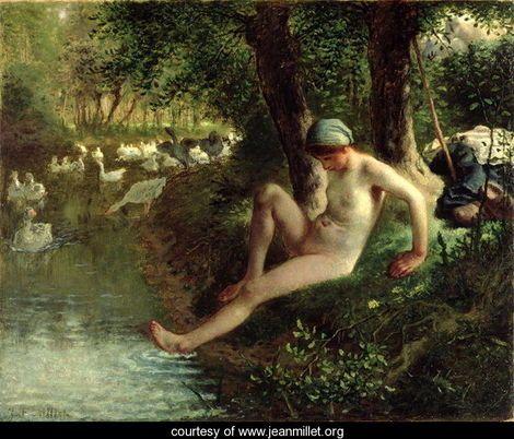 Peintre célèbre - Jean Francois Millet