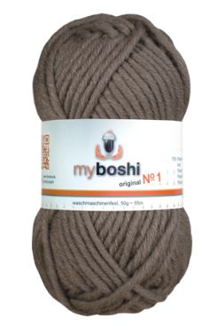 myboshi No.1 175 schlamm 70% Polyacryl und 30% Schurwolle (Merino) 3,75 €