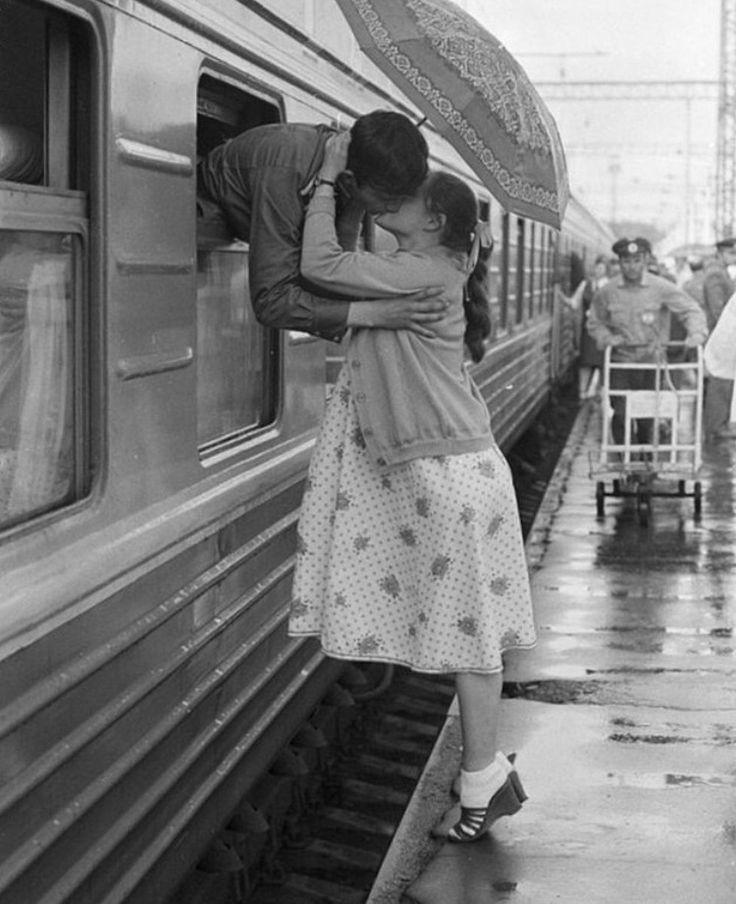 Soviet train. 70-80s