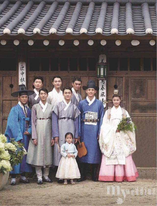 한복 Hanbok : Korean traditional clothes[dress] | #TraditionalWedding