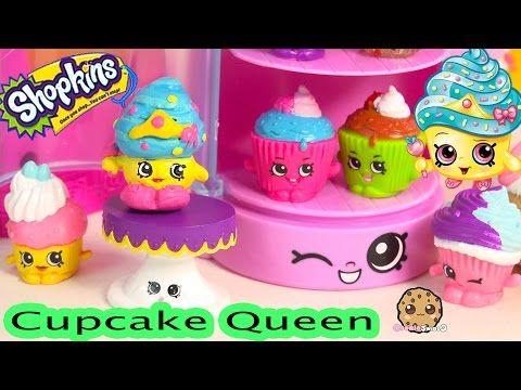 DIY Craft Limited Edition Shopkins Season 1 CUPCAKE QUEEN Custom Paint Cookieswirlc Video