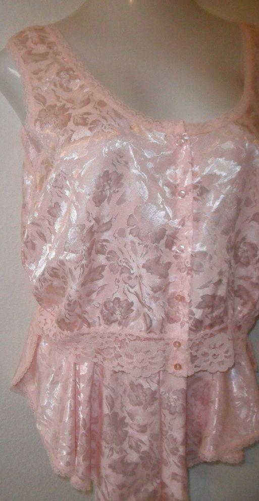 Vintage Nightie Pajamas Baby Doll Set by by desertgraceboutique, $25.00