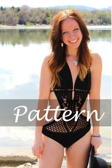 CROCHET PATTERN for The Sweetheart Swimsuit