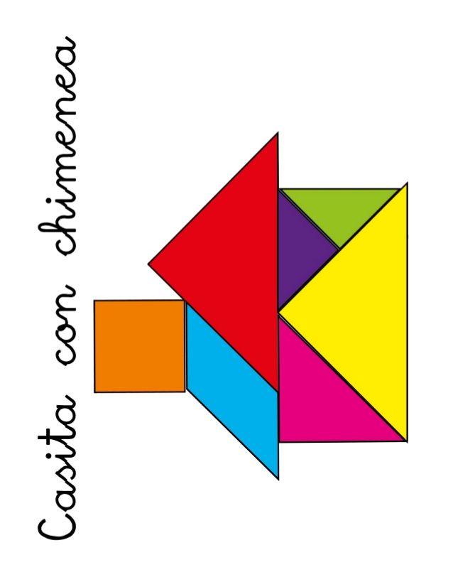 tangram para niños   tangram, trazos de letras