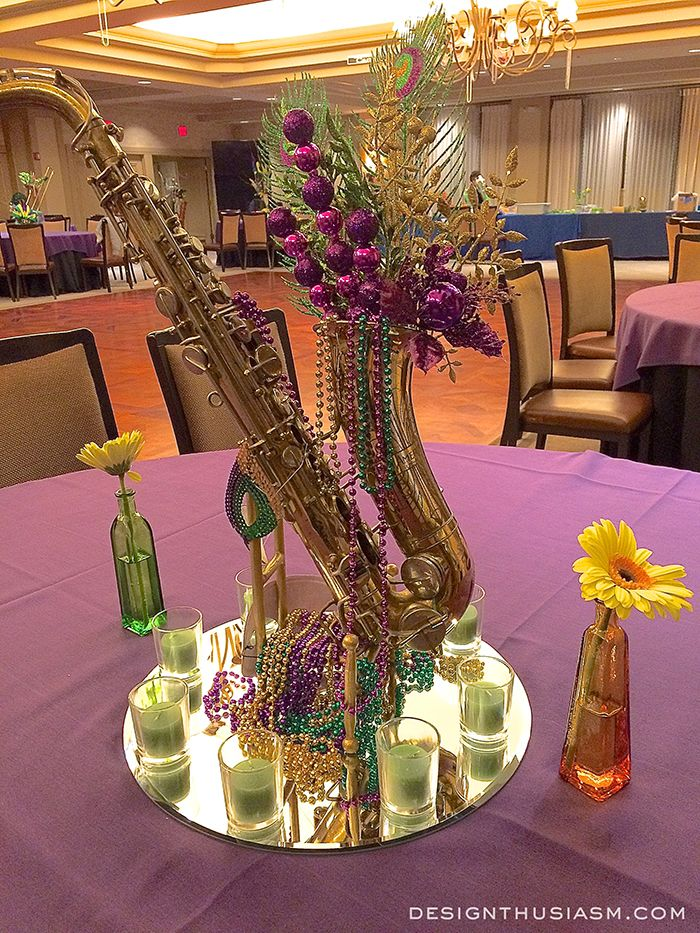 Best ideas about music centerpieces on pinterest