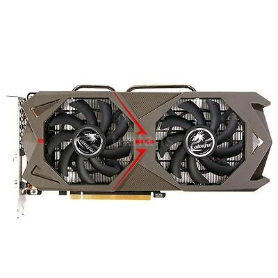 ﹩399.99. New Colorful NVIDIA GeForce GTX 1060 6GB Video Graphics Card with 2 Cooling Fan    ISBN - Does not apply, GPU - Geforce GTX 1060, Core structure - GP106, Core technology - 16nm, CUDAs stream processors - 1280, Memory clock (MHz) - 8008, Standard memory config - 6GB GDDR5, Memory interface width - 192-bit, Bus Support - PCIe 3.0, Display port - DVI+HDMI+3*DP, Maximum digital resolution - 7680*4320@60Hz,