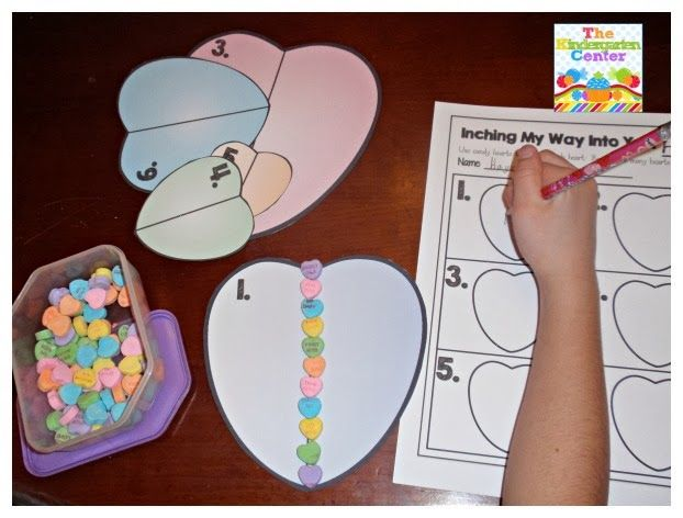 Measuring with Candy Hearts