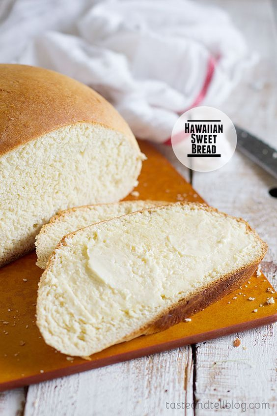 Hawaiian Sweet Bread Recipe- R.G. Says: Oooh, yummy! This was delicious! 5 out of 5 stars