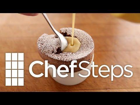 Molten Chocolate Soufflé - YouTube