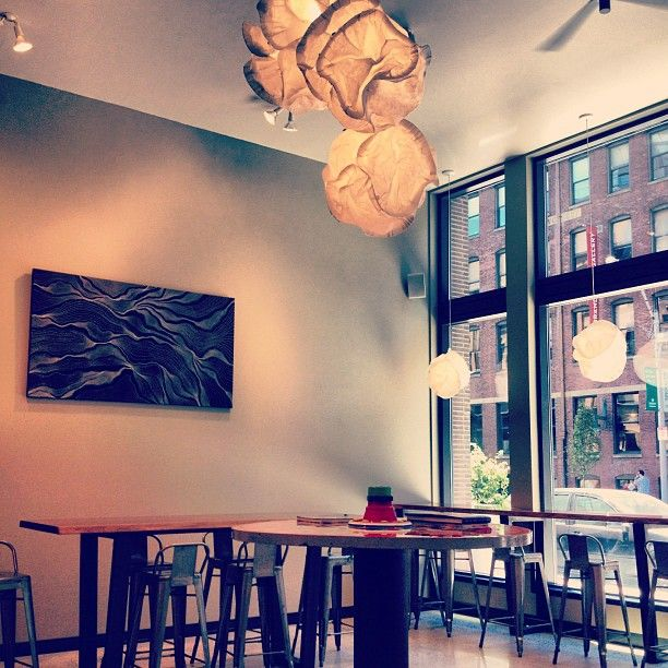 One of Boston's favorite local fine-craft coffee shops.