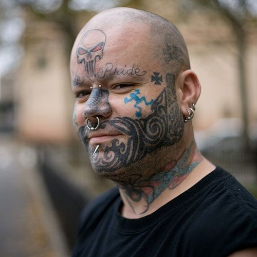 Gang Tattoos And Their Meaning: 25 Best Gang Face Tattoos Images On Pinterest