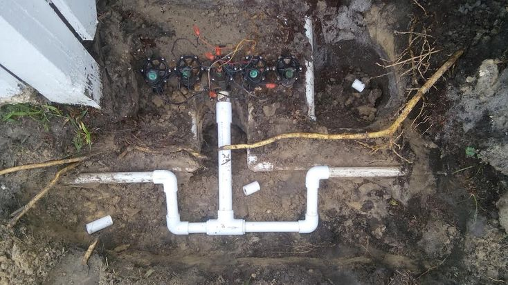 Sprinkler valve repair, this is an example of a irrigation valve repair. American Property Maintenance is the leader in sprinkler repairs