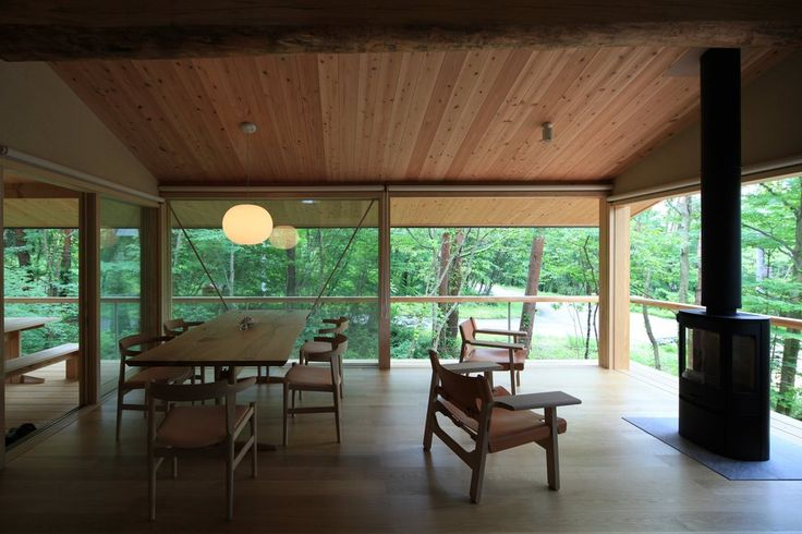 大山の森の別荘 横内敏人建築設計事務所