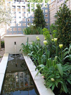 Timeless elegance - A courtyard garden - Shoot