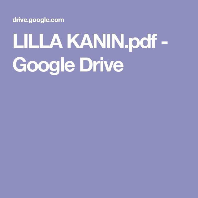 LILLA KANIN.pdf - Google Drive
