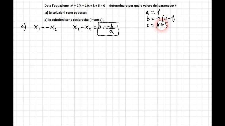 Equazioni parametriche 4