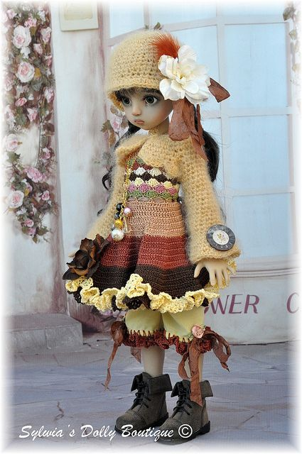 MSD outfit for Agathe by Linda Macario   Flickr - Photo Sharing!