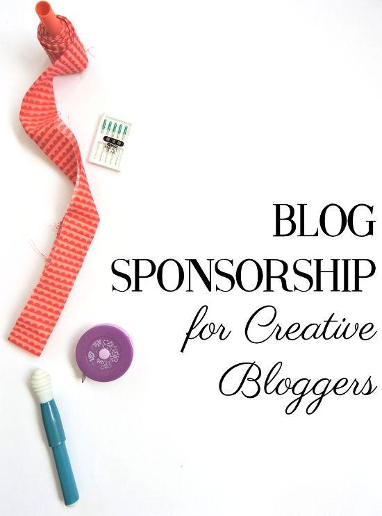 Best Sponsorship Images On   Blogging Ideas Blog