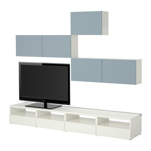 27 best Besta images on Pinterest Living room ideas, Ikea hacks - meuble tv home cinema integre watts