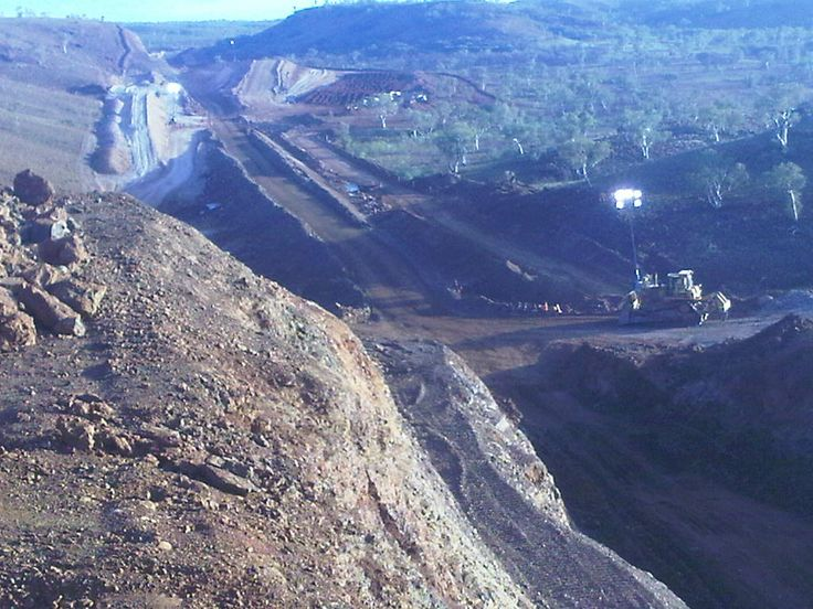 Its Hot , rough,and hard. Toughest place in Australia to work.Its The Pilbara.