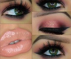 Make-Up ~ Eye shadow & Liner and Lipstick
