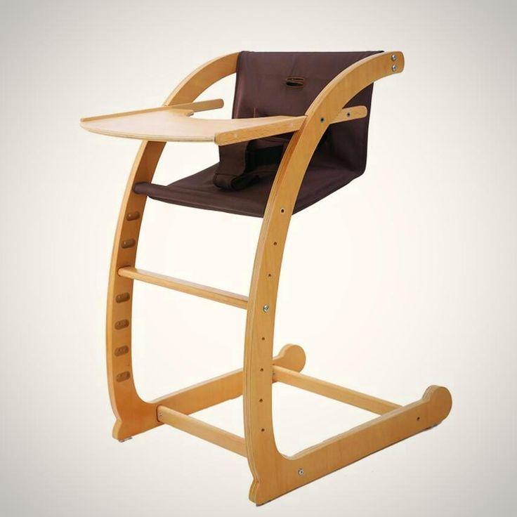 Free Shipping-Sleek Firm Multi functional Wooden baby high chair Ergonomic Kneeling, Rocking Computer Posture Chair