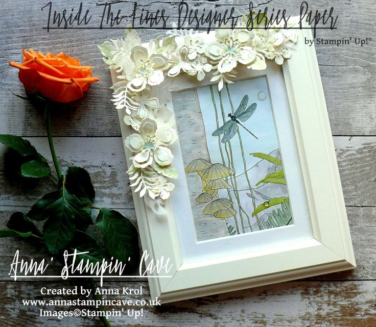 Anna' Stampin' Cave – Celebrating Sale-A-Bration Blog Hop – Inside The Lines Altered Photo Frame Hello, everyone! Welcome to another Pootlers Blog Hop. This time we are supe…
