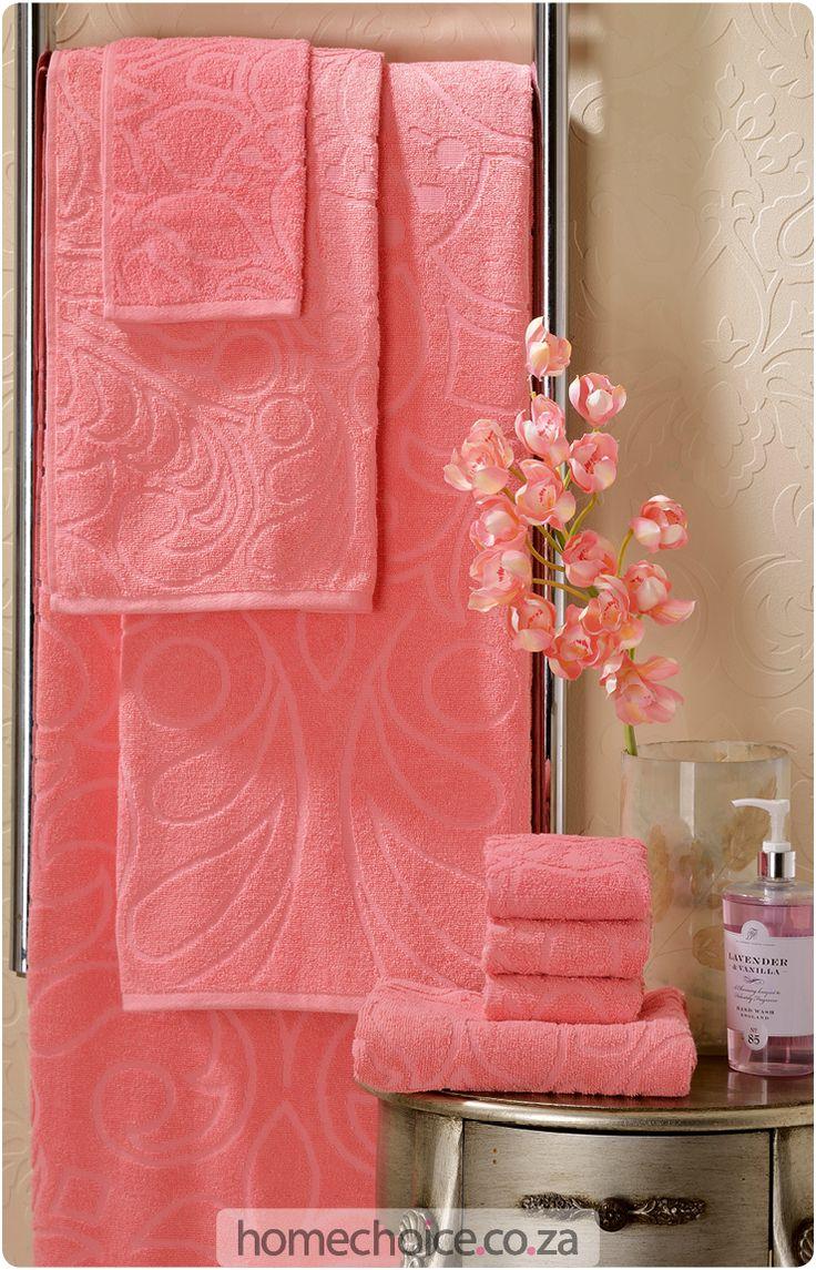 Milea plain-dyed towel set http://www.homechoice.co.za/Bathroom/Milea.aspx