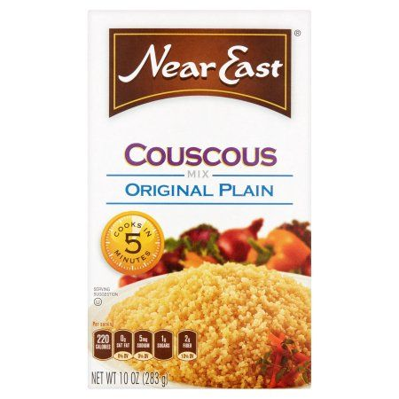 Near East Couscous Mix Original Plain 10 Ounce Paper Box