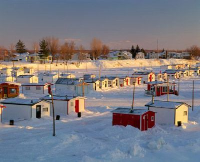 Ice fishing houses fishing pinterest ice fishing for Used ice fishing houses for sale