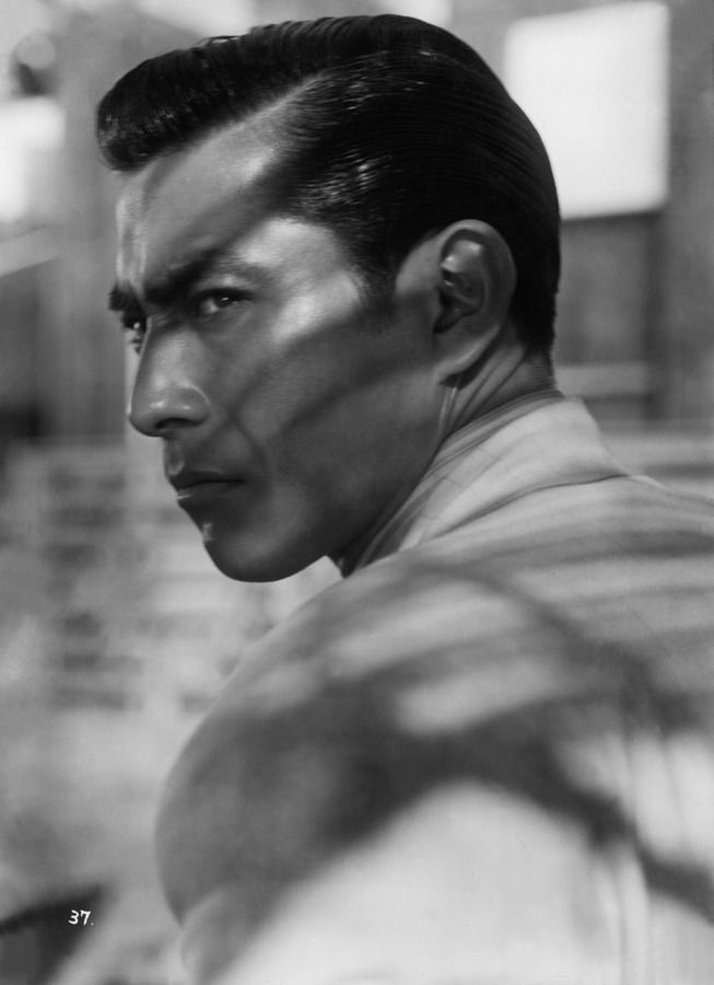 Toshirō Mifune (1920-1997) ~ best known for his 16 film collaboration with Akira Kurosawa