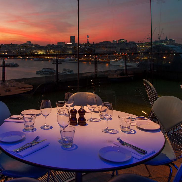 Oxo Tower Bar and Brasserie | The Luxury Restaurant Guide