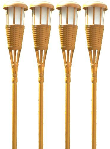 http://picxania.com/wp-content/uploads/2017/09/newhouse-lighting-solar-flickering-led-tiki-torches-bamboo-finish-4-pack.jpg - http://picxania.com/newhouse-lighting-solar-flickering-led-tiki-torches-bamboo-finish-4-pack/ - Newhouse Lighting Solar Flickering LED Tiki Torches, Bamboo Finish, 4-Pack -   Price:    Create the Perfect Tropical island Atmosphere With Newhouse Lighting Tiki torches. The Tiki torch Design Consists Of 3 Internal LEDs Enclosed Behind A Frosted Lens. Of t