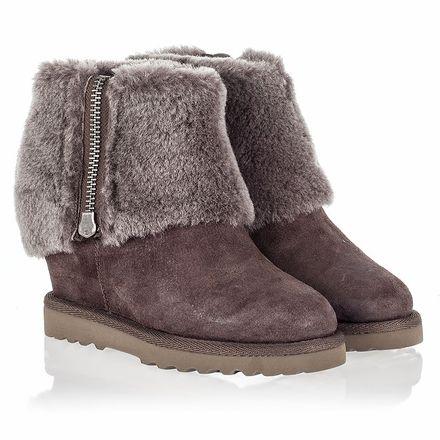 Ash Yorki Womens Boot Topo Suede 340678 (236)