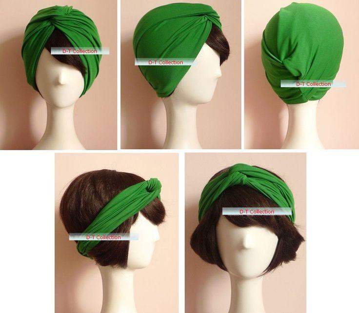 Aliexpress.com: Comprar Hotsale Retro diadema pañuelo Hijab también puede jugar como turbante Dual Purpose + envío libre 23 colores ( negro, azul, verde ) de tapa fiable proveedores en Urzone_My Fair Lady