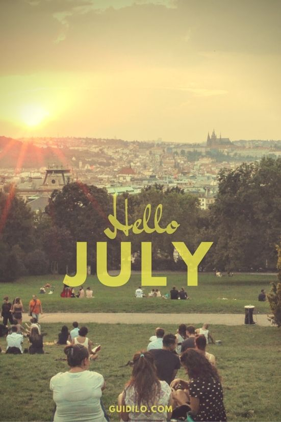 July Events in Prague