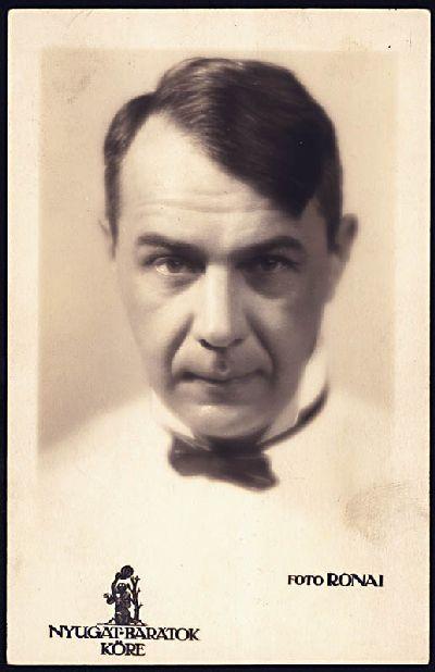 Kosztolányi Dezső 1931, fotó: Rónai Dénes