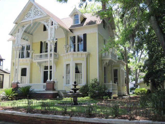 1891 Gothic Revival 1709 Reynolds St Brunswick GA