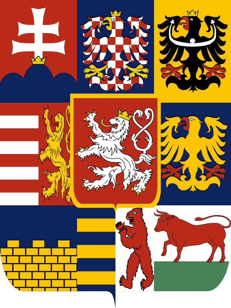 Alternate Kingdom of Great Bohemia coat of arms