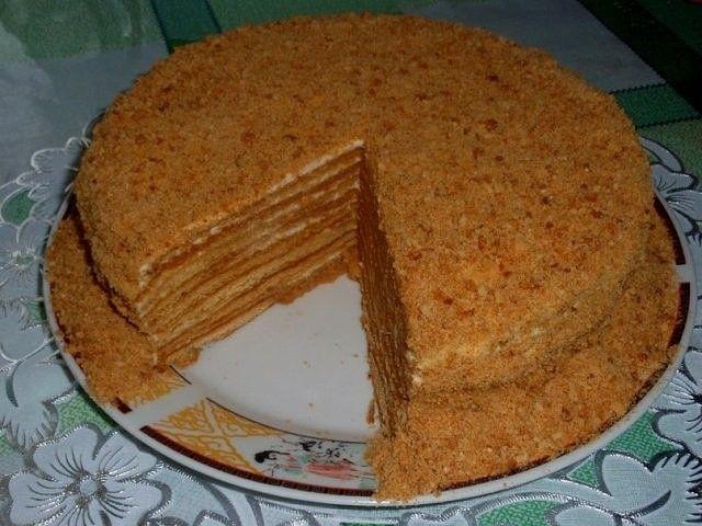 Очень вкусный рецепт Торта Медовик   Рецепты без запекания ...