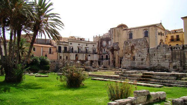 fascynujące podróże: Włochy, Sycylia, Syrakuzy spacer po mieście