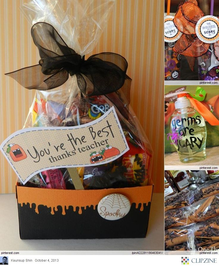 teacher appreciation gift for halloween free tags and tutorial for the gift box gifts gifts for kids ideas gifts for teachers - Halloween Gifts Kids
