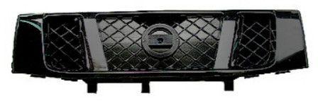 2008-2014 Nissan Titan Grille Black WBlack