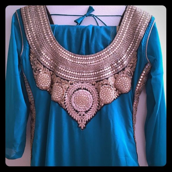 New Indian anarkali dress. Brand new. Amazing color Dresses Maxi