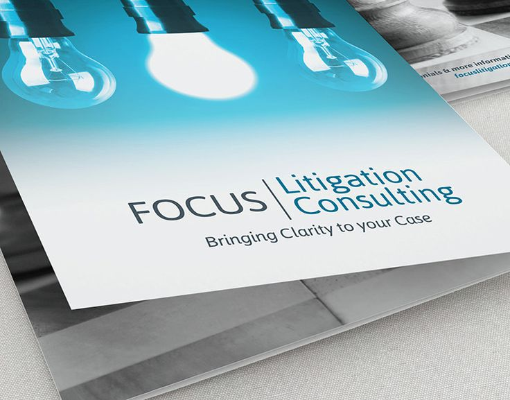 Focus Litigation Consulting, a national jury research and trial consulting firm needed to develop their brand.