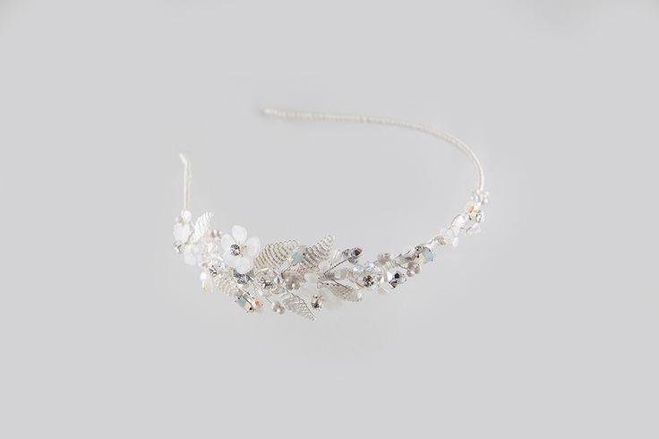 Bridal Rush - Silver www.mscarves.ro