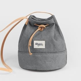 Bolso BOMBONERA GREY | UOHOP #UOHOPLifestyle #UOHOPproducts #ethicalfashion #slowfashion #backpack